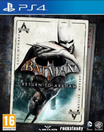 Batman Return to Arkham HD Collection (PS4)