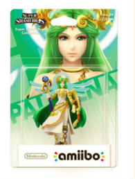 Super Smash Bros. Collection No.38 Palutena Amiibo