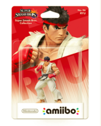 Super Smash Bros. Collection No.56 Ryu Amiibo