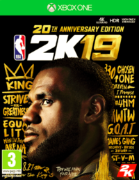 NBA 2K19 20th Anniversary Edition (Xbox One)