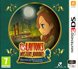 Layton's Mystery Journey: Katrielle and the Millionaries Conspiracy (3DS)
