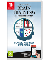 Dr Kawashima's Brain Training for Nintendo Switch (NSW)