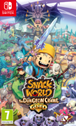 Snack World: The Dungeon Crawl — Gold (NSW)