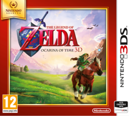 The Legend of Zelda: Ocarina of Time 3D (Selects) (3DS)