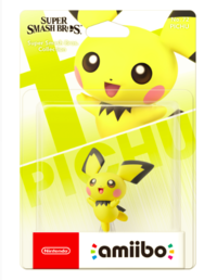 Pichu No.72  (Super Smash Bros. Collection) Amiibo