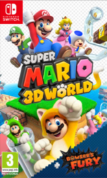 Super Mario 3D World + Bowser's Fury (NSW)